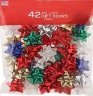 Peel n Stick 42 Gift Bows Assorted- 3 Sizes
