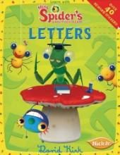 Miss Spiders Sunny Patch Friends Learn With Miss Spider Letters Paperback by David Kirk