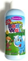 Personal Care - fruit punch body wash, age 3+, 325ml