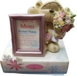 Fizzy Moon- Special Mom Picture Frame with Teddy Bear Size: 60x40mm